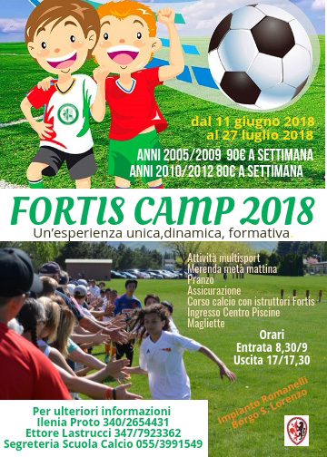 Fortis Camp 2018